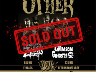 The Other sold out show flyer